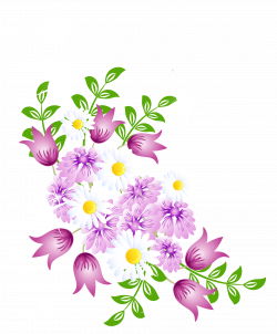 Spring Flowers Decor PNG Picture Clipart | FLOWERS | Pinterest ...