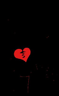 Broken Heart Clipart - Images, Illustrations, Photos   Hearts ♥ L ...