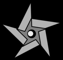 ninja star clipart | Ninja Star clip art | Parties | Pinterest ...