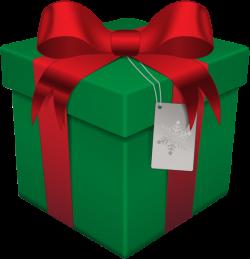 Christmas Gift Box Green Transparent PNG Clip Art | PATTERNS ...