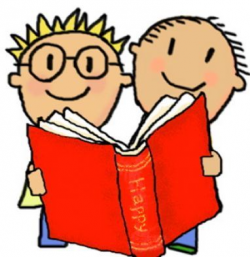 free printable reading buddies clip art | Cartoon pictures ...