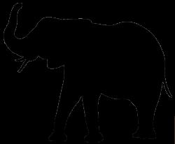 elephant silhouette | The Three Kings | Pinterest | Crayon melting ...