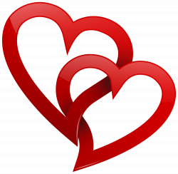 Two Red Hearts PNG Clipart Best WEB Clipart | Hearts ♥ L♥ve ...