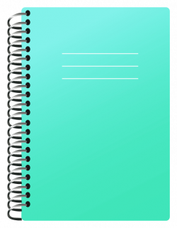 School Notebook PNG Clipart Picture | Schooly | Pinterest | Filing ...