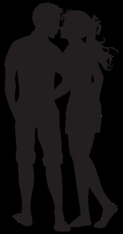 Couple PNG Silhouettes Clip Art Image | VALENTÝN | Pinterest | Art ...