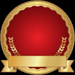 Red Seal Badge Transparent PNG Clip Art   texture border frame ...