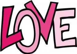 The Word Love Clipart | Clipart Panda - Free Clipart Images | @LL ...