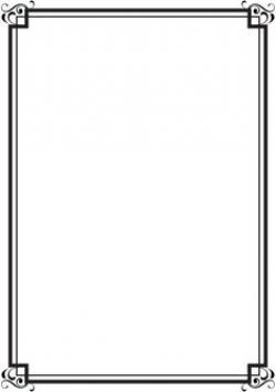 Free Printable Clip Art Borders | ... : Free Vintage Clip Art ...