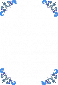 clip art borders | corner flower border | Frames | Pinterest | Clip ...