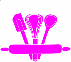 Bakery Utensils Pink Clip Art at Clker.com - vector clip art online ...