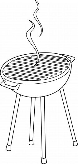 28+ Collection of Bbq Clipart Black And White | High quality, free ...
