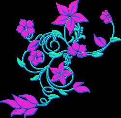 Lavender Flower Border Clipart