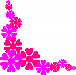 Flower Border For Girls Clip Art at Clker.com - vector clip art ...