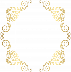 28+ Collection of Gold Clipart Borders | High quality, free cliparts ...