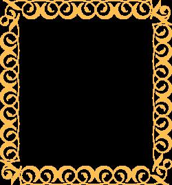 Gold Border Clip Art at Clker.com - vector clip art online, royalty ...