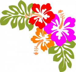 Hibiscus Clip Art at Clker.com - vector clip art online, royalty ...