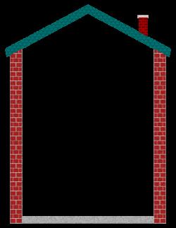 Clipart - House Border 02