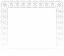 Lace Border Frame PNG Clip Art Image | Gallery Yopriceville - High ...