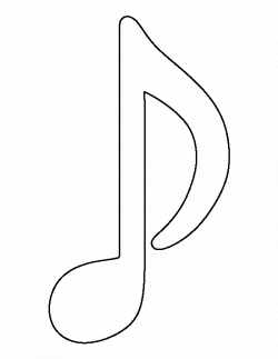 music note template printable - Acur.lunamedia.co