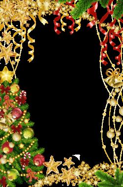Transparent Christmas Photo Frame with Christmas Tree | ovalados ...