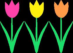 Tulip Stencil | Crafty | Pinterest | Clip art and Stenciling