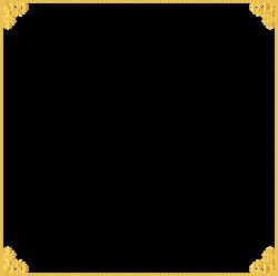 Golden Border Frame Transparent Clip Art Image | Frame it (1 ...