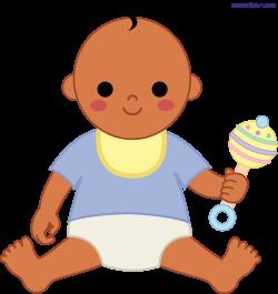 Baby Boy 2 Clipart - Sweet Clip Art