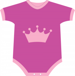 Pink clipart baby onesie - Pencil and in color pink clipart baby onesie