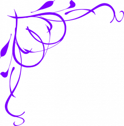 Vine Heart Purple Clip Art at Clker.com - vector clip art online ...