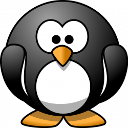 Penguin   Free Stock Photo   Illustration of a cartoon penguin   # 11520
