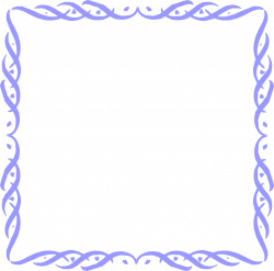Border Blue | Free Stock Photo | Illustration of a blank blue frame ...
