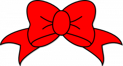 Red Bow Clip Art at Clker.com - vector clip art online, royalty free ...