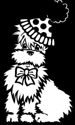 Dog | Free Stock Photo | Illustration of a circus dog | # 2964