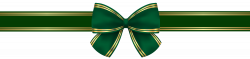 Green Gold Bow PNG Clip Art Image | Gallery Yopriceville - High ...