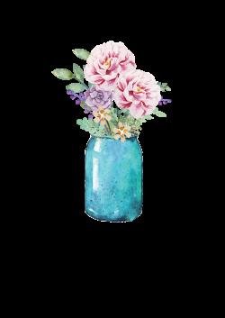 Lauren Baxter : Flowers in a Mason Jar | Wallpaper | Pinterest | Jar ...