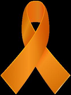 Orange Awareness Ribbon PNG Clip Art - Best WEB Clipart