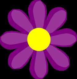 purple clip art | Purple Flower 10 clip art - vector clip art online ...