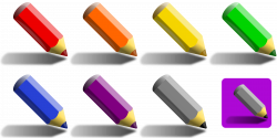 Colored Pencil Clipart at GetDrawings.com | Free for personal use ...