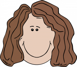 Woman Face Clip Art at Clker.com - vector clip art online, royalty ...