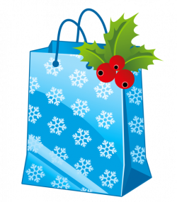 Transparent Christmas Blue Gift Box Clipart | ~*♧️Gift boxes ...