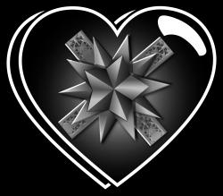 Clipart - Heart Shaped Gift Box