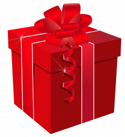 Red Gift Box with Red Bow PNG Clipart Image   Gallery Yopriceville ...