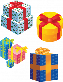 Gifts png images free, download Presents gift box Transparent Backgound
