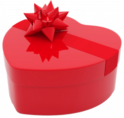 Valentines Day Heart Gift Box PNG Clipart Picture | Gallery ...