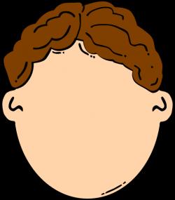 Brown Hair Boy Clip Art at Clker.com - vector clip art online ...