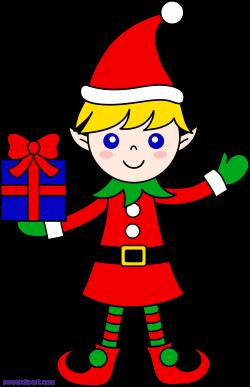Christmas Elf Clipart - Sweet Clip Art