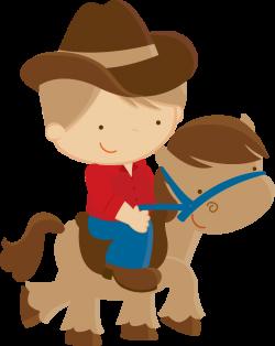 Cowboy e Cowgirl - Minus | Clip Art-Country Time | Pinterest | Clip art