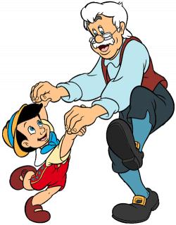 Pinocchio Group Clip Art | Disney Clip Art Galore
