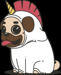 Free Image on Pixabay - Pug, Unicorn, Dog, Animal, Puppy | Pinterest ...