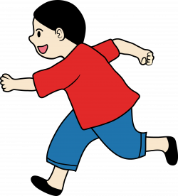 28+ Collection of Little Kid Running Clipart | High quality, free ...